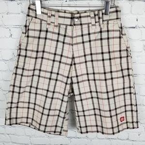 OP | plaid shorts